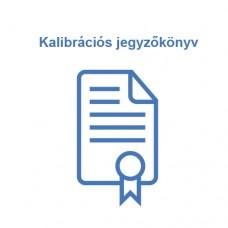 Kalibrációs jegyzőkönyv